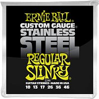 Ernie Ball 2246  струны для электрогитары Stainless Steel Regular Slinky 10-46